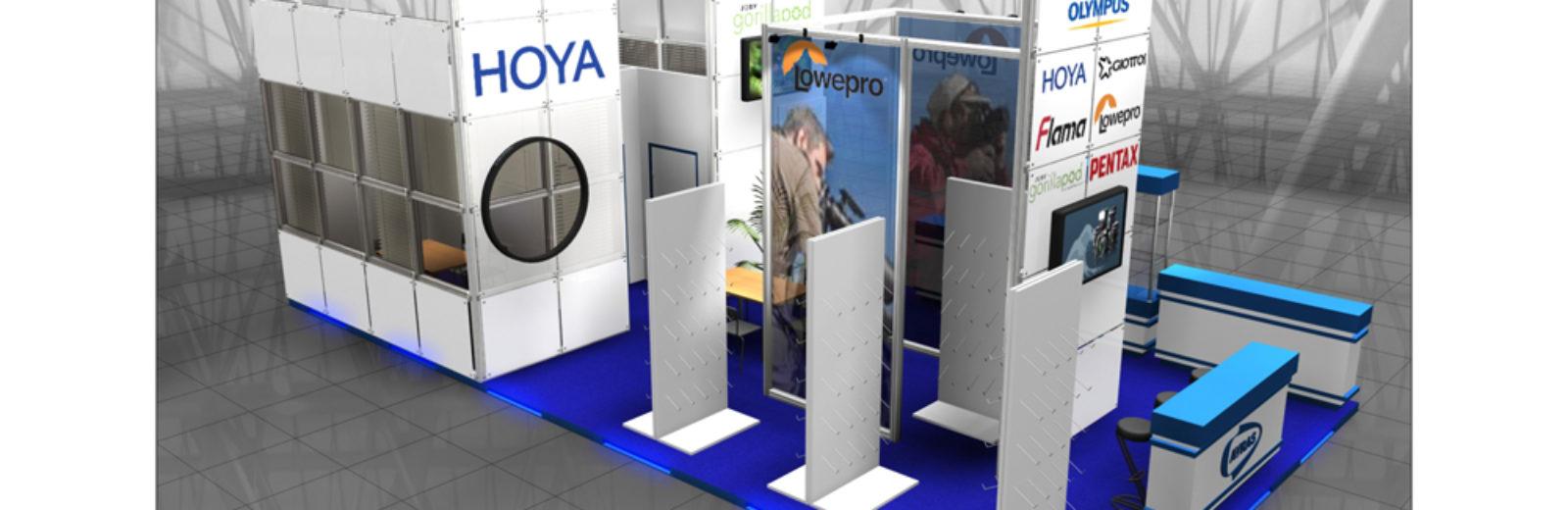 Дизайн проект выставочного стенда AVRAS