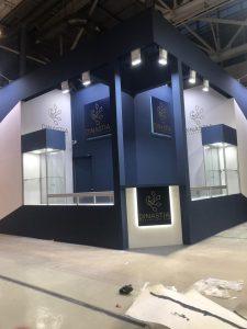 Застройка выставочного стенда Ювелирный дом Династия