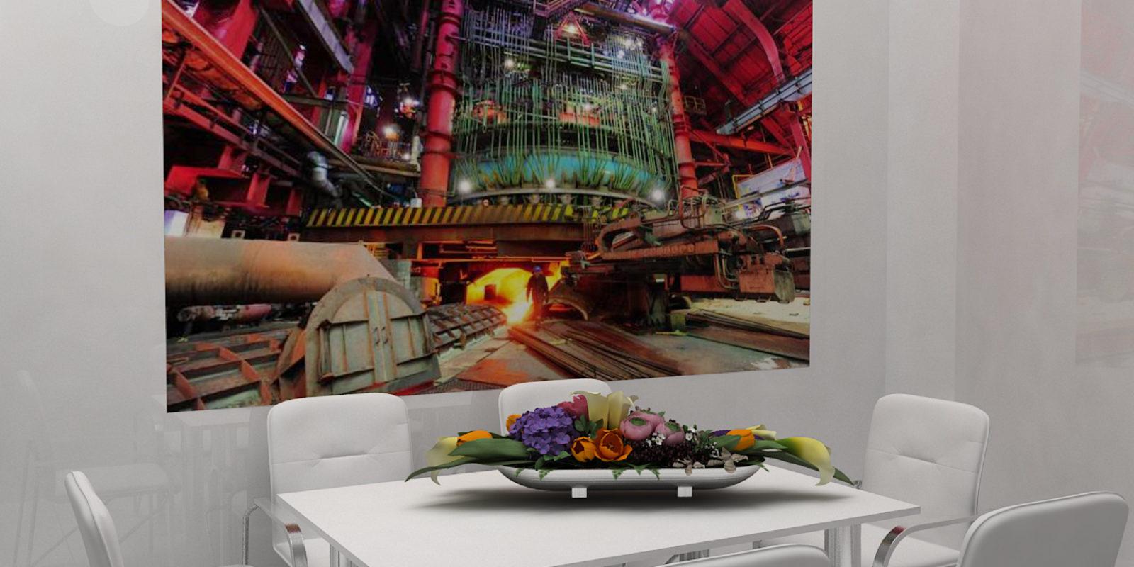 Дизайн проект выставочного стенда ArcelorMittal.