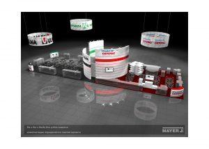 Дизайн проект выставочного стенда для компаний Ulma, G.Mondini,Cryovac.