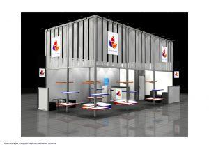Дизайн проект выставочного стенда для компании Plastic Centre - Plast team / TM SVIP