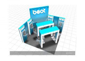 Дизайн проект выставочного стенда для компании Best-RUS. Выставка Мебель 2009
