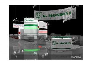 Дизайн проект выставочного стенда для компании G.Mondini