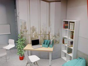Дизайн проект выставочного стенда для компании Acco Brands.