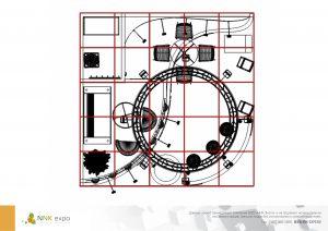 Дизайн проект выставочного стенда для группы компаний ПроВита.