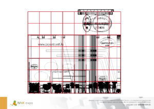Дизайн проект выставочного стенда для компании Брянконфи.