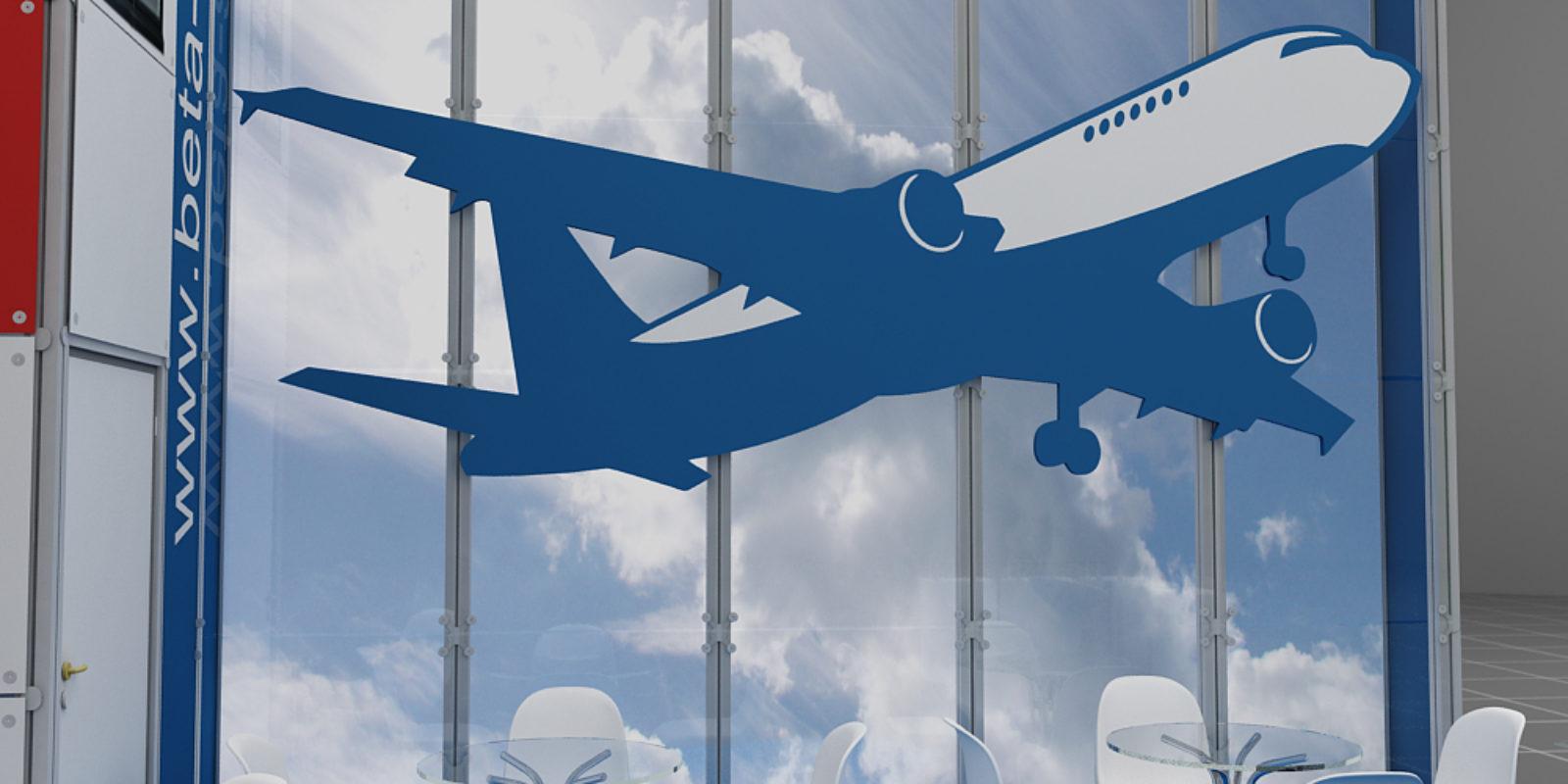 Дизайн проект выставочного стенда компании Beta Air (Бета Айр)
