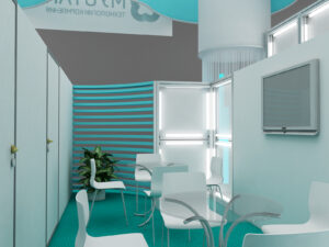 Дизайн проект выставочного стенда Мустанг-технологии кормления.