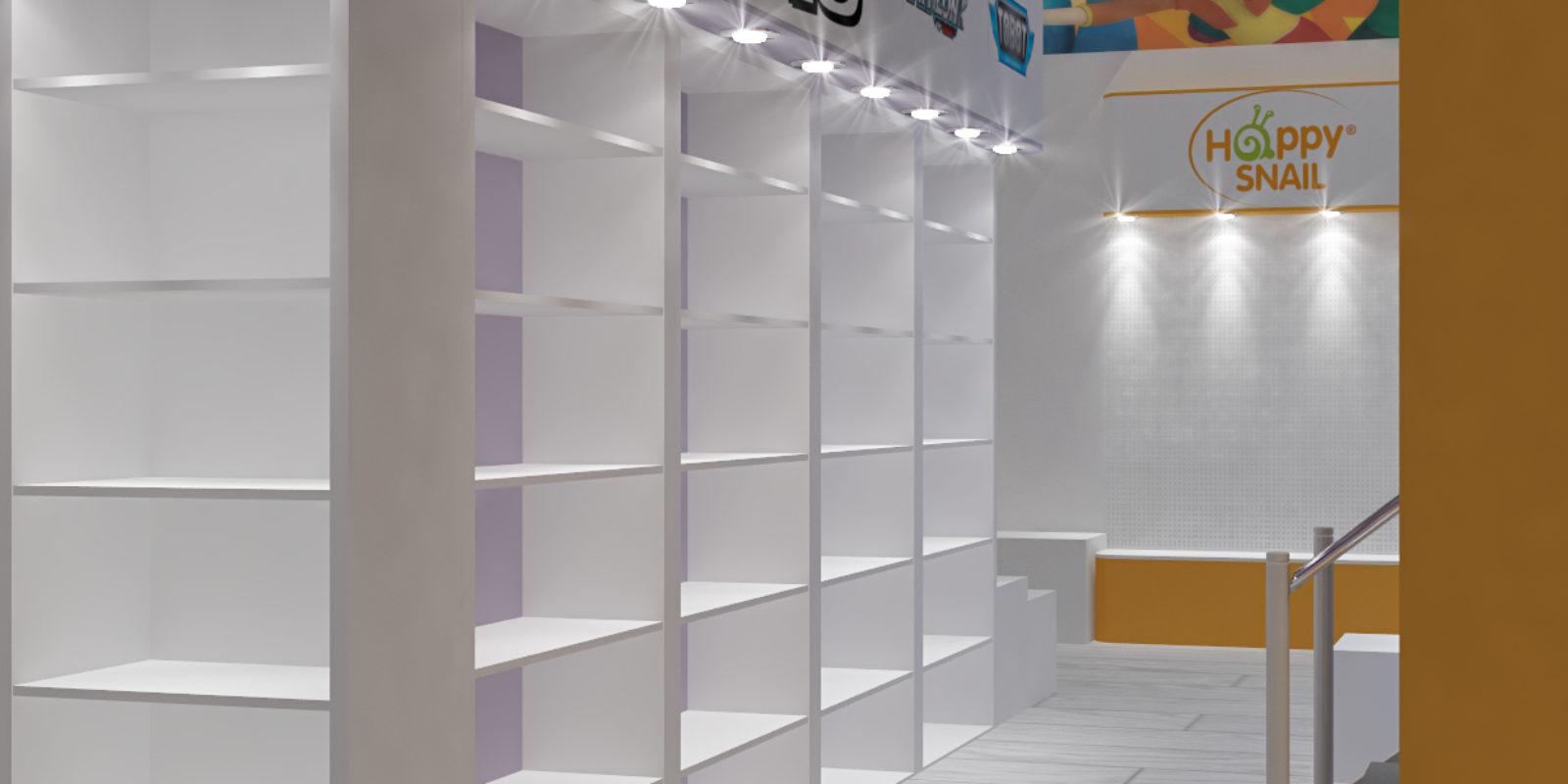 Дизайн проект выставочного стенда компании Gulliver&Co.