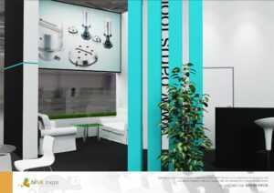 Дизайн проект выставочного стенда компании Барус