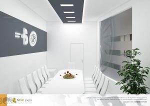 Дизайн проект выставочного стенда Борисфен