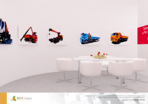 Дизайн проект выставочного стенда Fassi